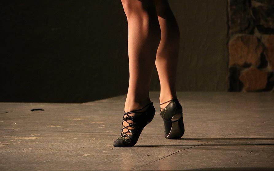 Janine's feet