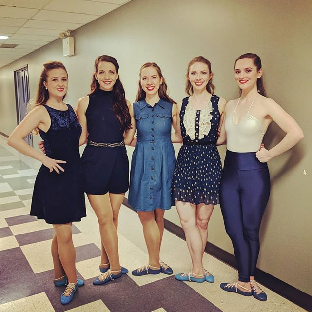 #tbt Dancer group shot after performing our fabulous (if we do say so ourselves) production #EastCoastCeltic. #Thankful to all who have supported and collaborated with us... Special shout out today goes to Forsyth Scottish Dancing Shoes @nic.forsyth for their sponsorship. We just looove our #blueshoes! 💃🙏👣❤️ #November @strathspeymabou #Mabou #CapeBreton #NovaScotia #highlanddance