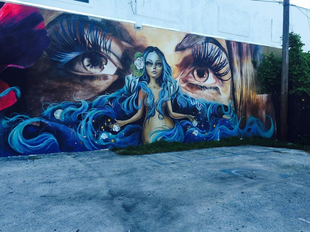 Laundromat Mural Tatiana Hernandez