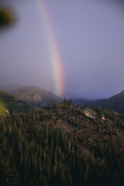 Dat rainbow tho