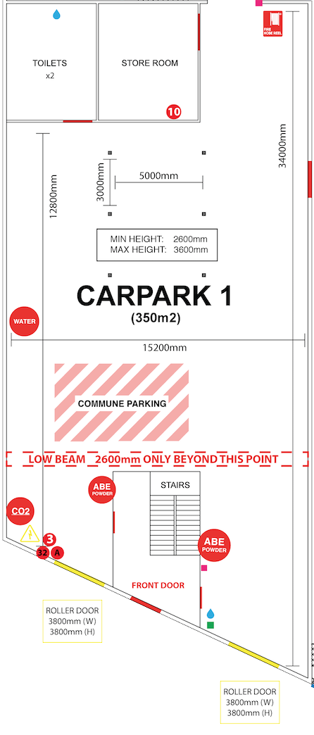 CARPARK 1 FLOORPLAN