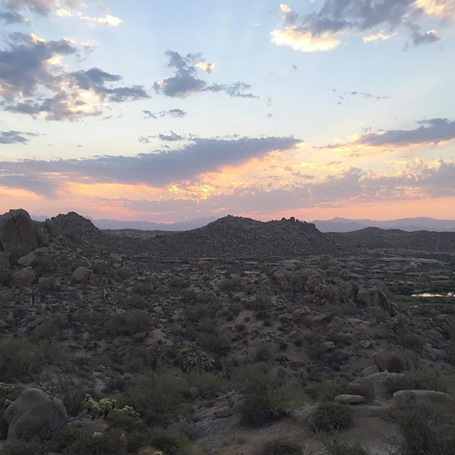 Will never get tired of sunrise hikes.  #hiking #arizona #scottsdale #nature #photooftheday #instagood