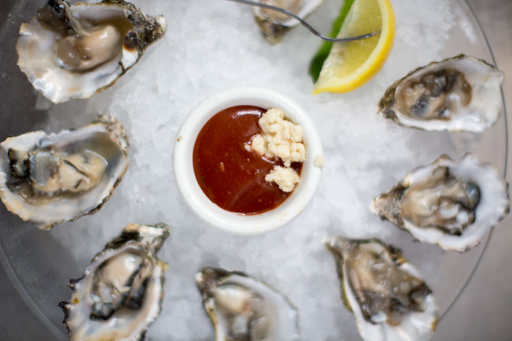 Oysters at Beachside Bar Cafe