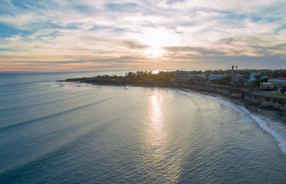 Drone Photography at Goleta Beach