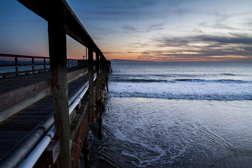Sunset at Goleta Pier