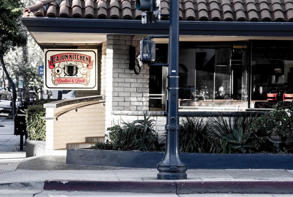 Store front at Cajun Kitchen on Chapala