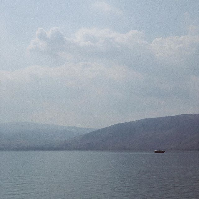 Sea of Galilee  It's surreal being here. My mind just keeps being blown. All the stories and the constant awe and wonder.