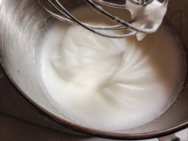 soft peak egg whites