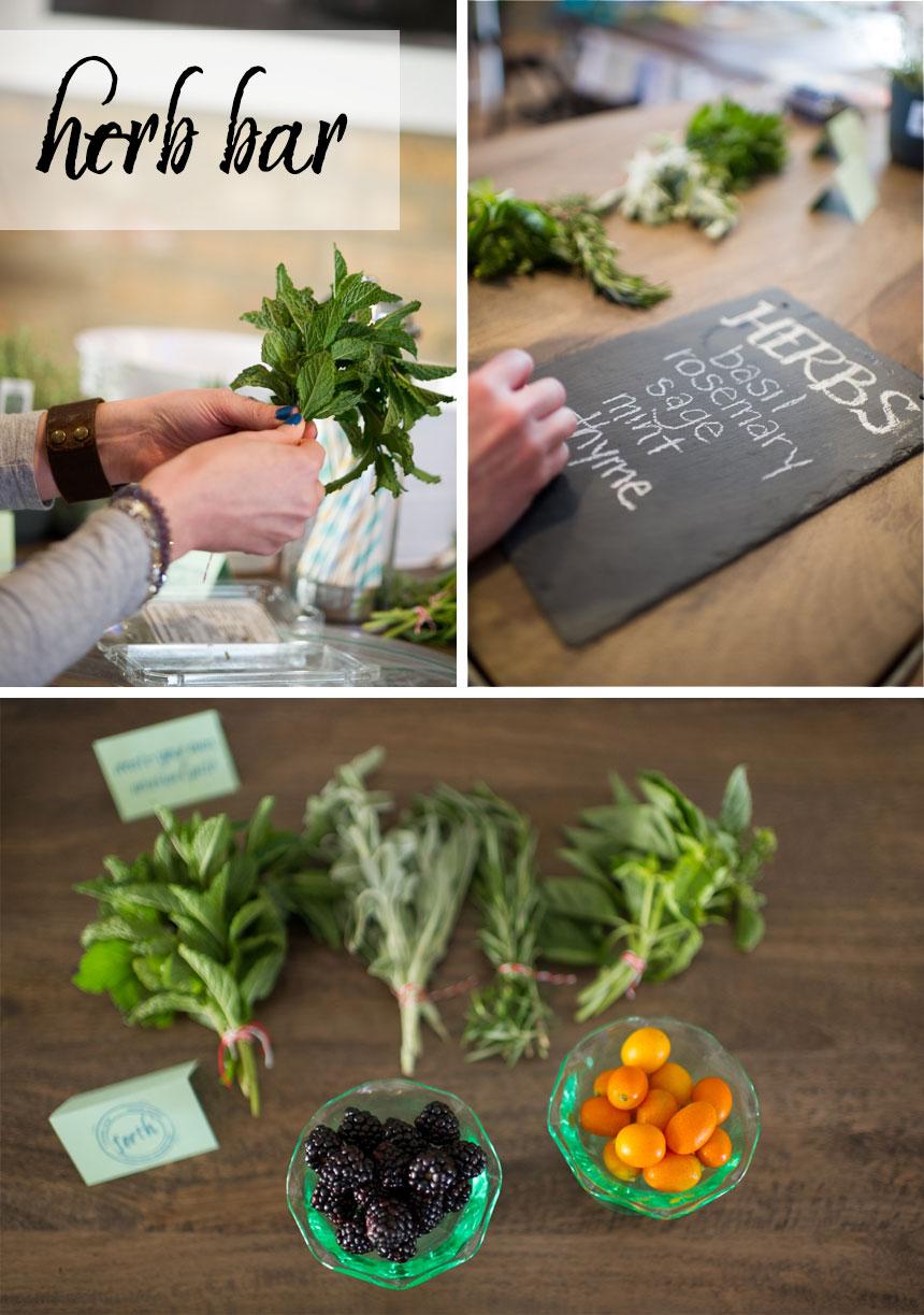 Spring-herb-bar