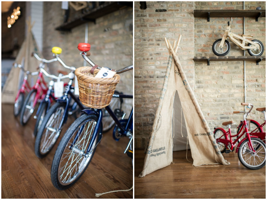 Heritage Littles Bikes and Teepee