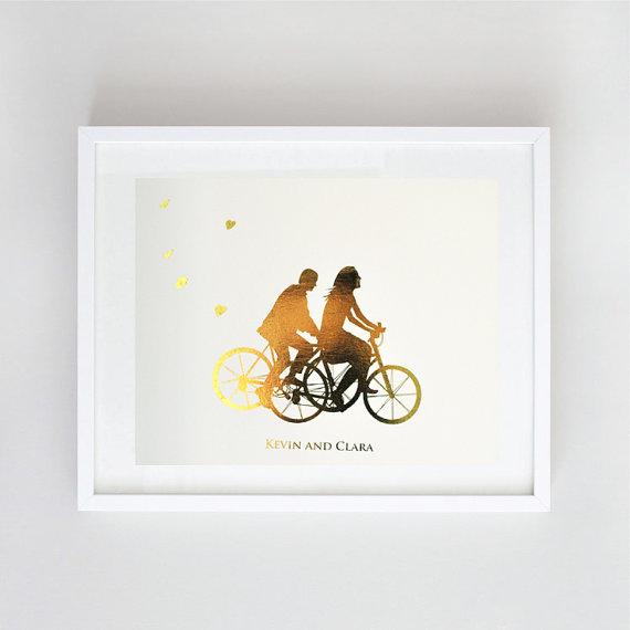 Etsy Le Papier Studio Goldleaf Print