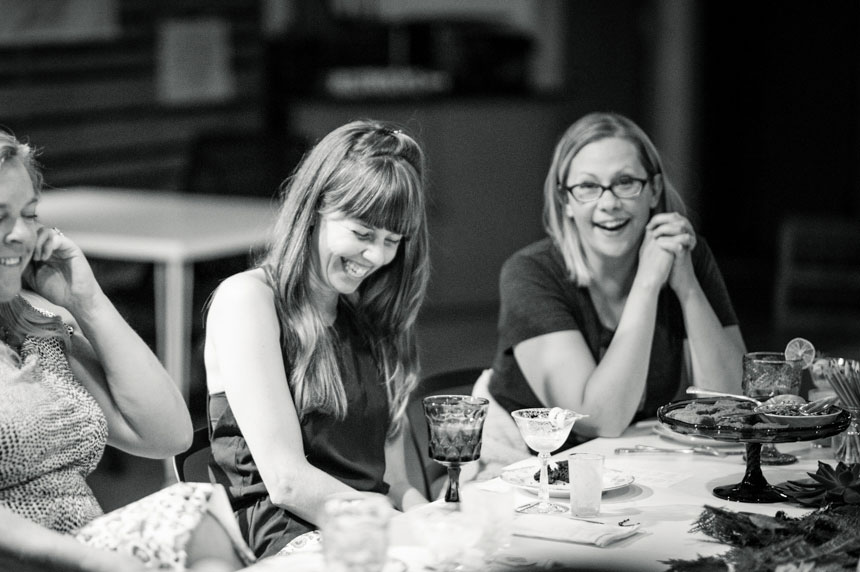 Forth Chicago Autumn 2014. Forth is a quarterly event designed to provide women the time and space to talk.
