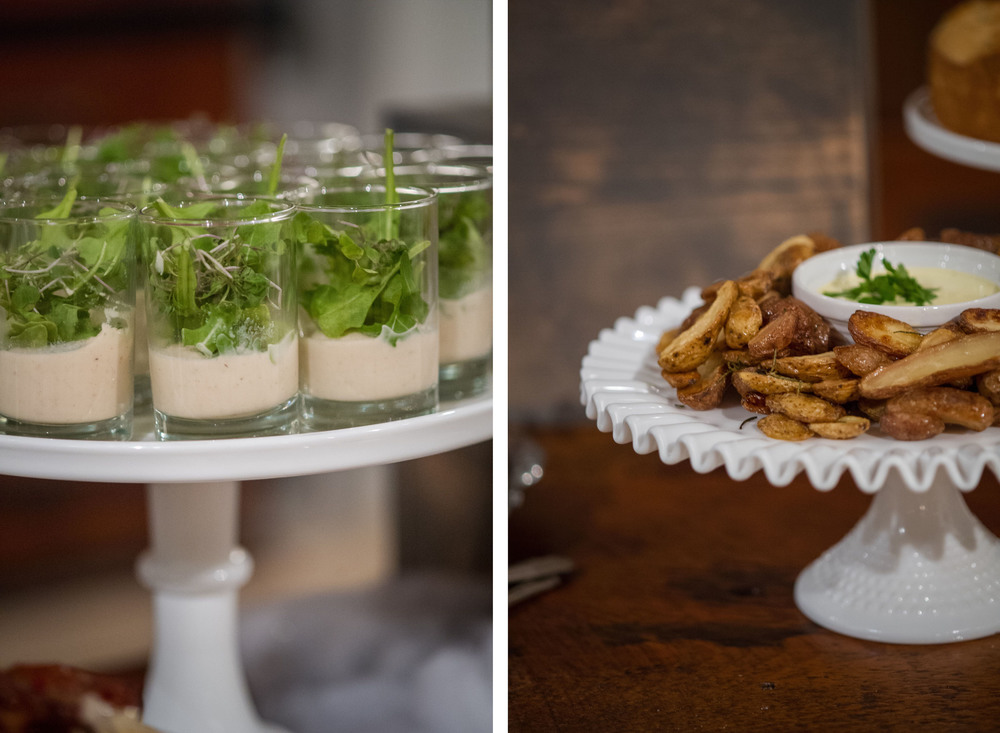 Savory treats for a cocktail party