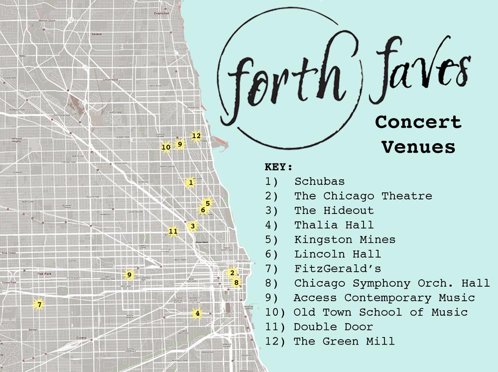 4xForth Map-Concert Venues