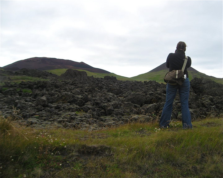 Domke bag in Iceland, 2010