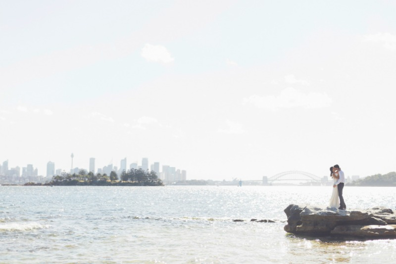 Andy + Kat's Sydney wedding ceremony