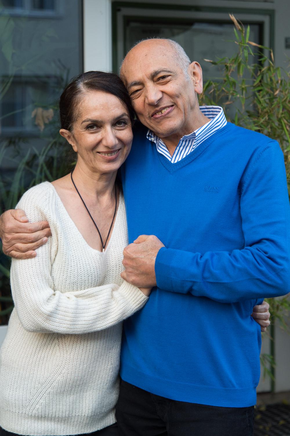 Mo und Zarin genießen es, ihre Gäste im Essener Zodiac mit gutem Essen und viel Liebe zu bewirten.