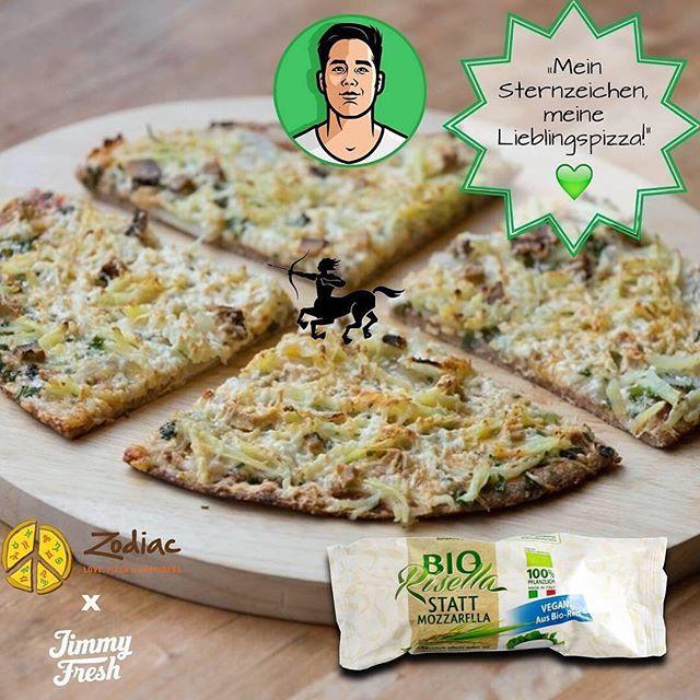 """#ZodiacPizza #ThankYouGram #Repost @Jimmy.Fresh:  Pascal empfiehlt euch  die """"Schütze""""-Bio-Vollkornpizza 🍕😍 Welche Sternzeichenpizza feiert ihr so? 🤗⭐️ ⠀  in 30 Min. liefern lassen 🚀:⠀ http://buff.ly/2nJYHdk (Webseite)⠀ http://buff.ly/2nJY17U (App)⠀ (Nicht im Liefergebiet? 0151 5771 4025 Anrufen 😎🤙) #munich #munichfood #veganmunich #munichfitness #lieferservicemünchen #fitnessfood #foodporn #freshfood #veganfood #vegan #vegetarianfood #healthyeating #healthfood  #cleaneating #veganPizza #LovePizzaHappiness #vegansofig"""
