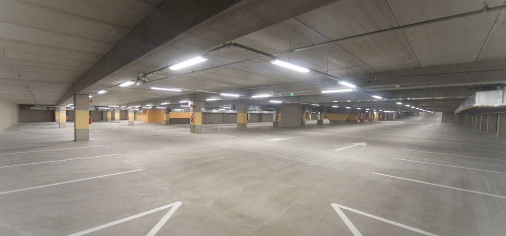 Torgparkering Ludvig stod klar att tas i bruk i december 2016.