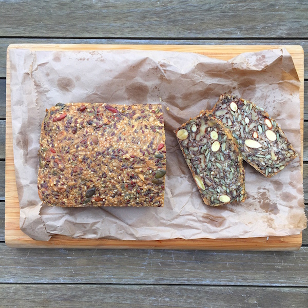 Paleo Nutty Bread