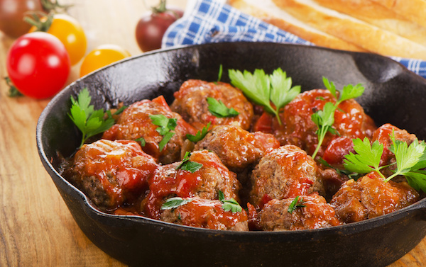 Lean Meatballs In Chilli Tomato