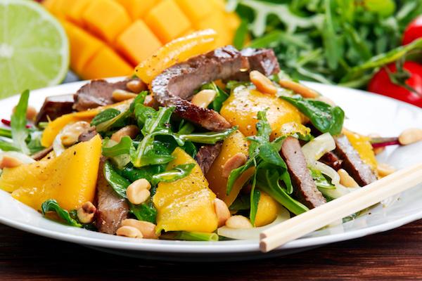 Mango Beef Salad