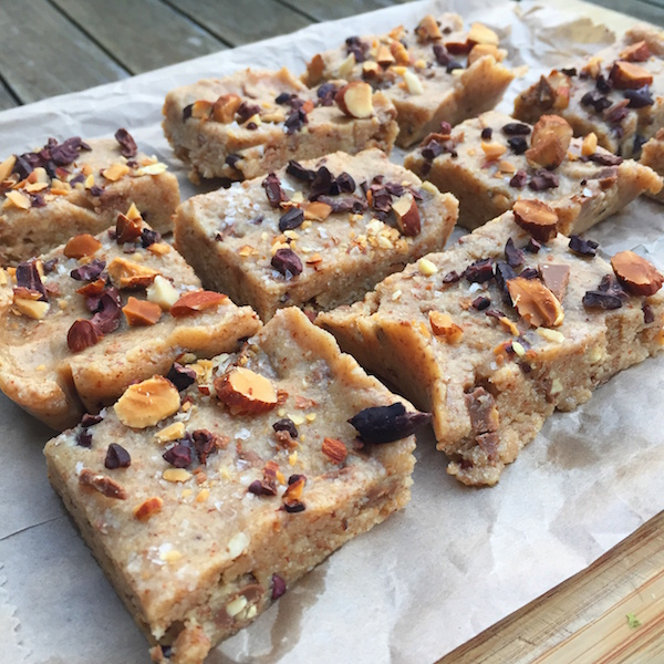 Almond Butter Squares