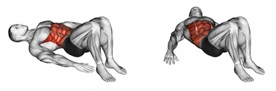 Lying Ankle Taps