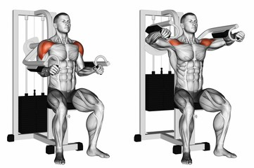 Machine Side Raises