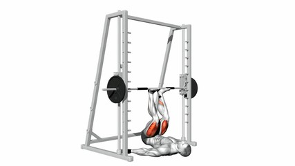 Inverted Smith Machine Leg Press