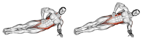 Side Plank Pulses