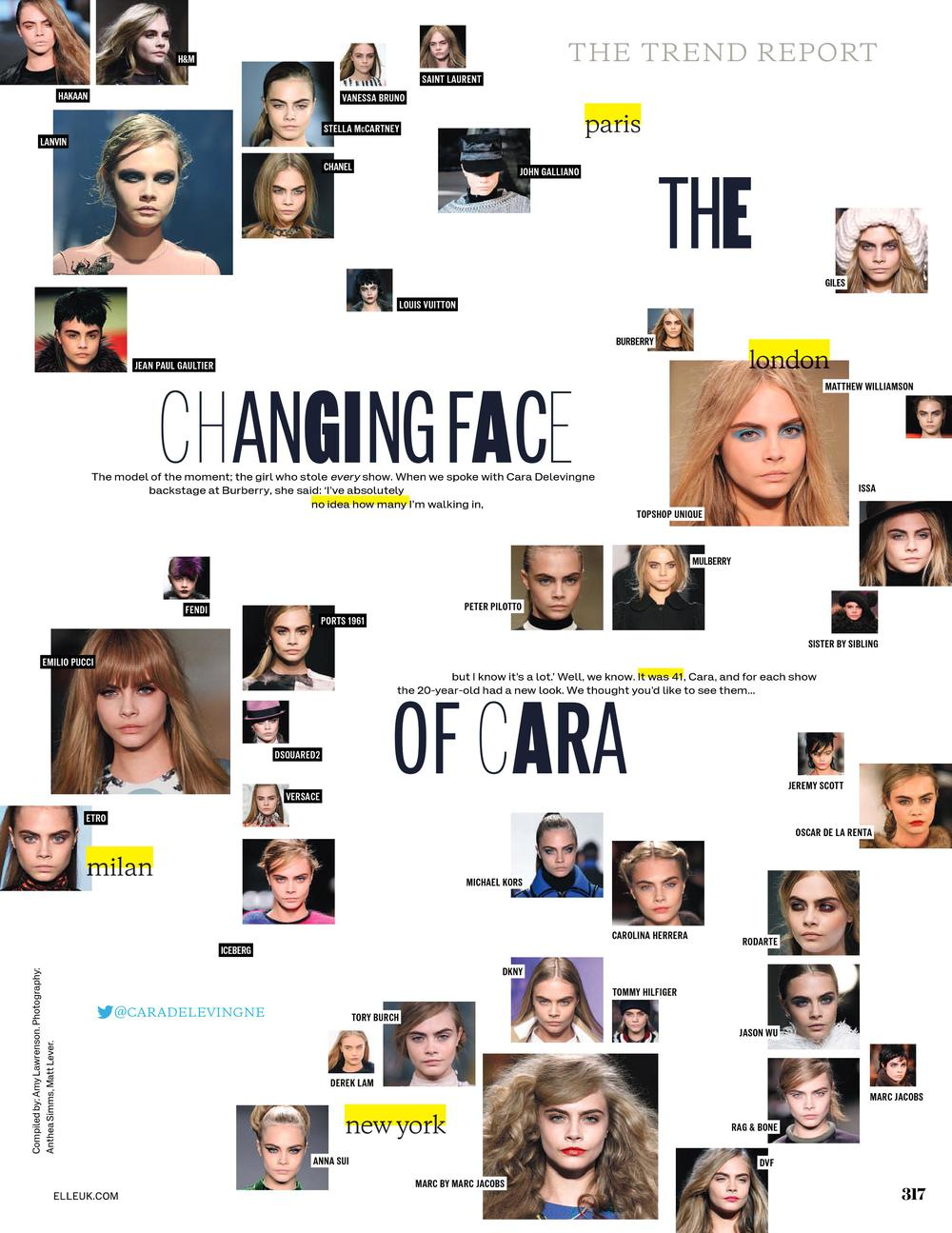 Changing Face Of Cara