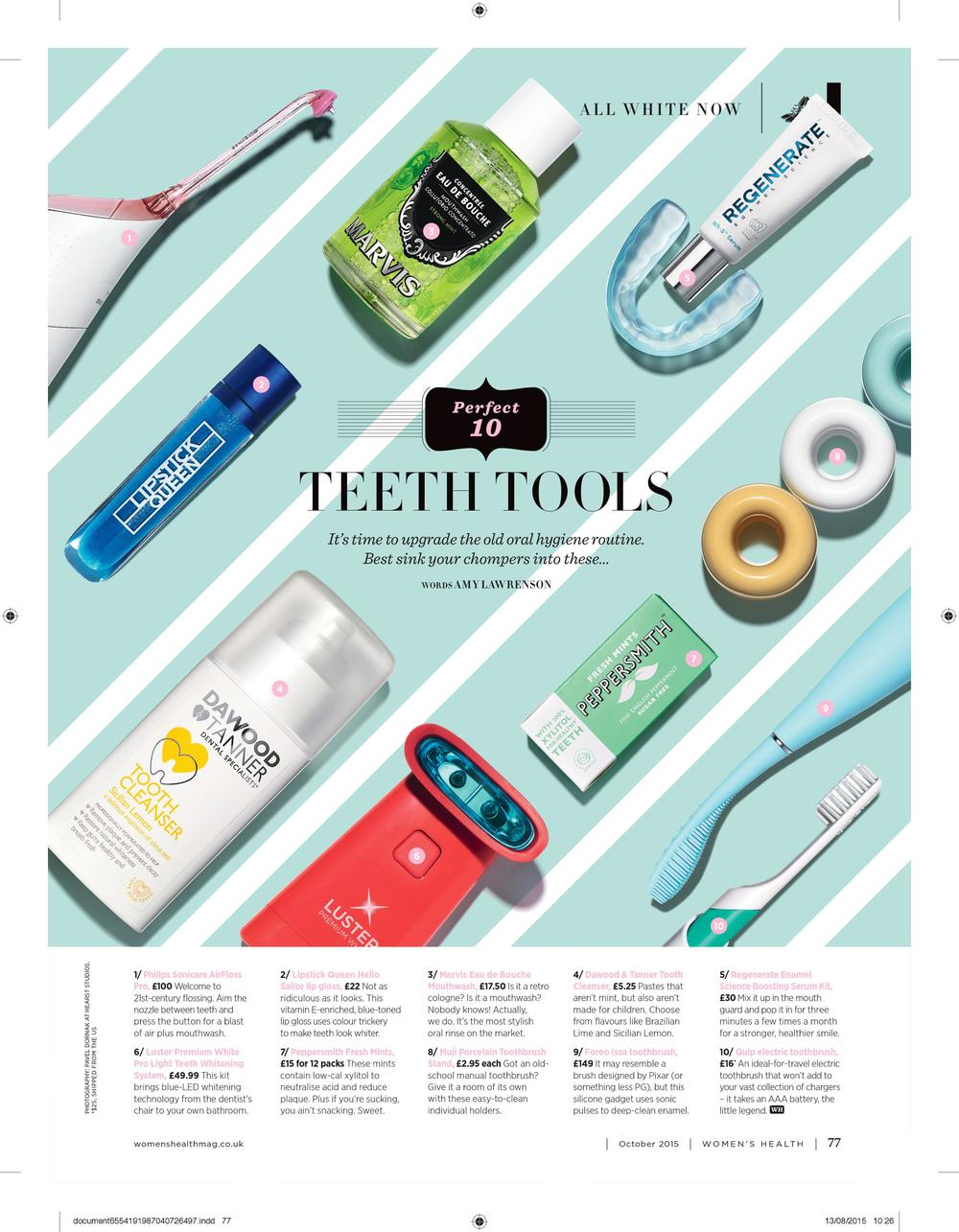 Perfect 10: Teeth Tools