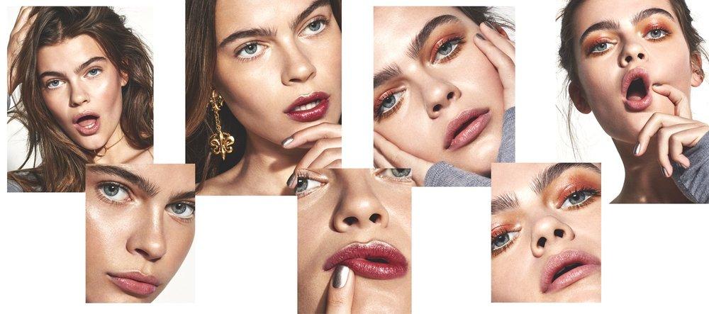 Metallic Makeup Shoot | Byrdie UK