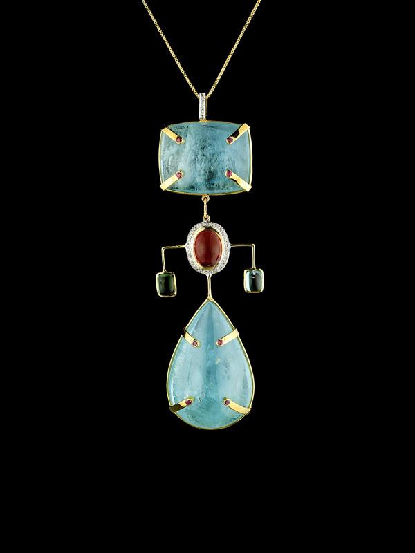 Peggy Guggenheim Pendant