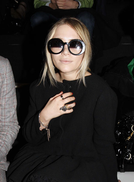 Mary Kate Olsen, Paris, 2008