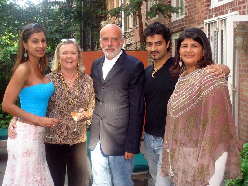 Samira Rana, Sarah Giles, Francesco Clemente, Hanut Singh and Preethi Krishna