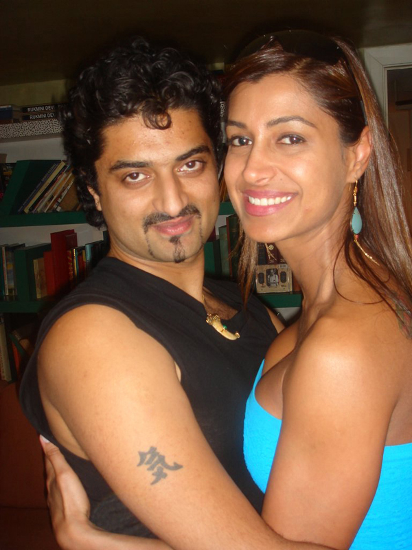 Hanut Singh with Samira Rana