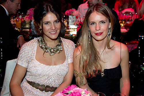 Margharita Missoni and Eugenie Niarchos