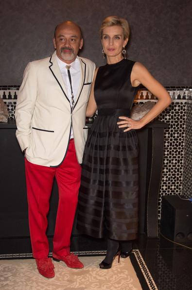 Christian Louboutin with Melita Toscan Du Plantier