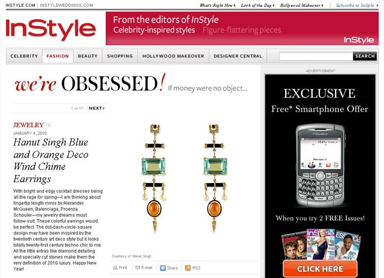 InStyle.com, January 2010