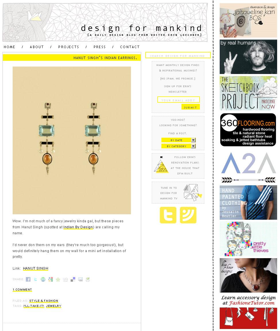 designformankind.com, June 2010