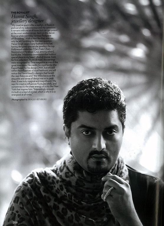 Vogue, April 2011