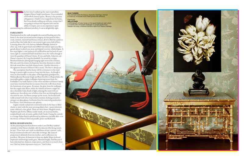Architectural Digest, September 2012
