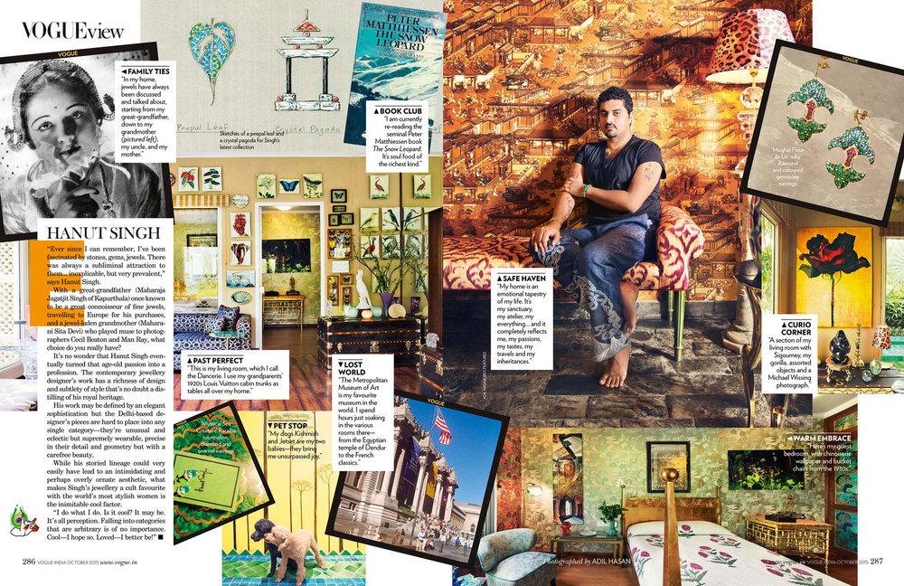 Vogue India, October 2015
