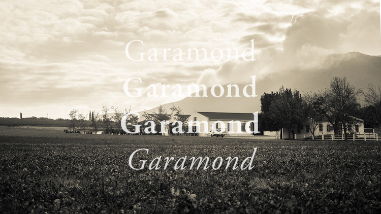 10 alternatives to the classic font Garamond — Frank