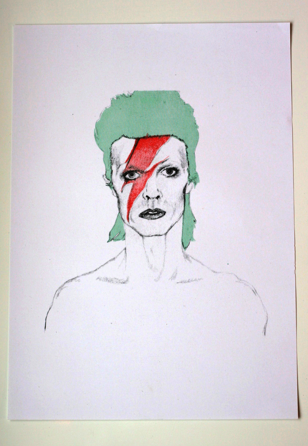 Bowie  Charity Print