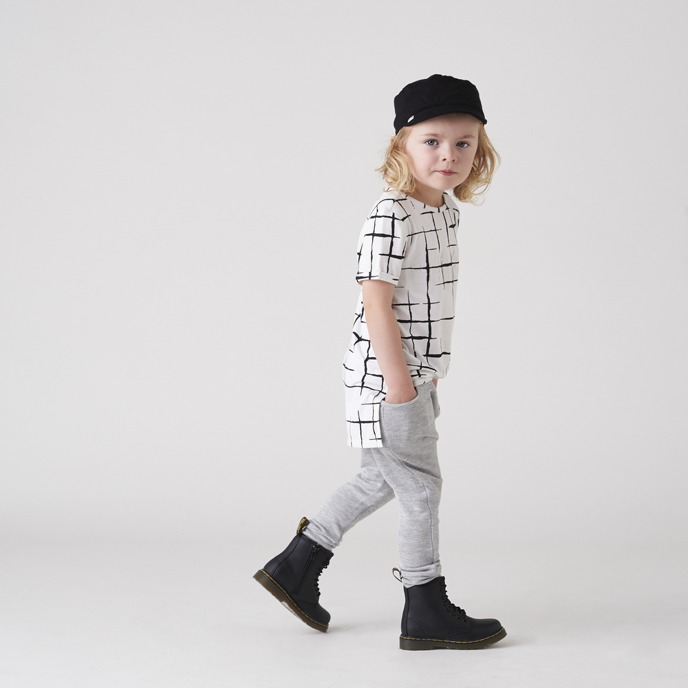 Rollin Tee & Grey Slouch Pocket Pants with Cap.jpg