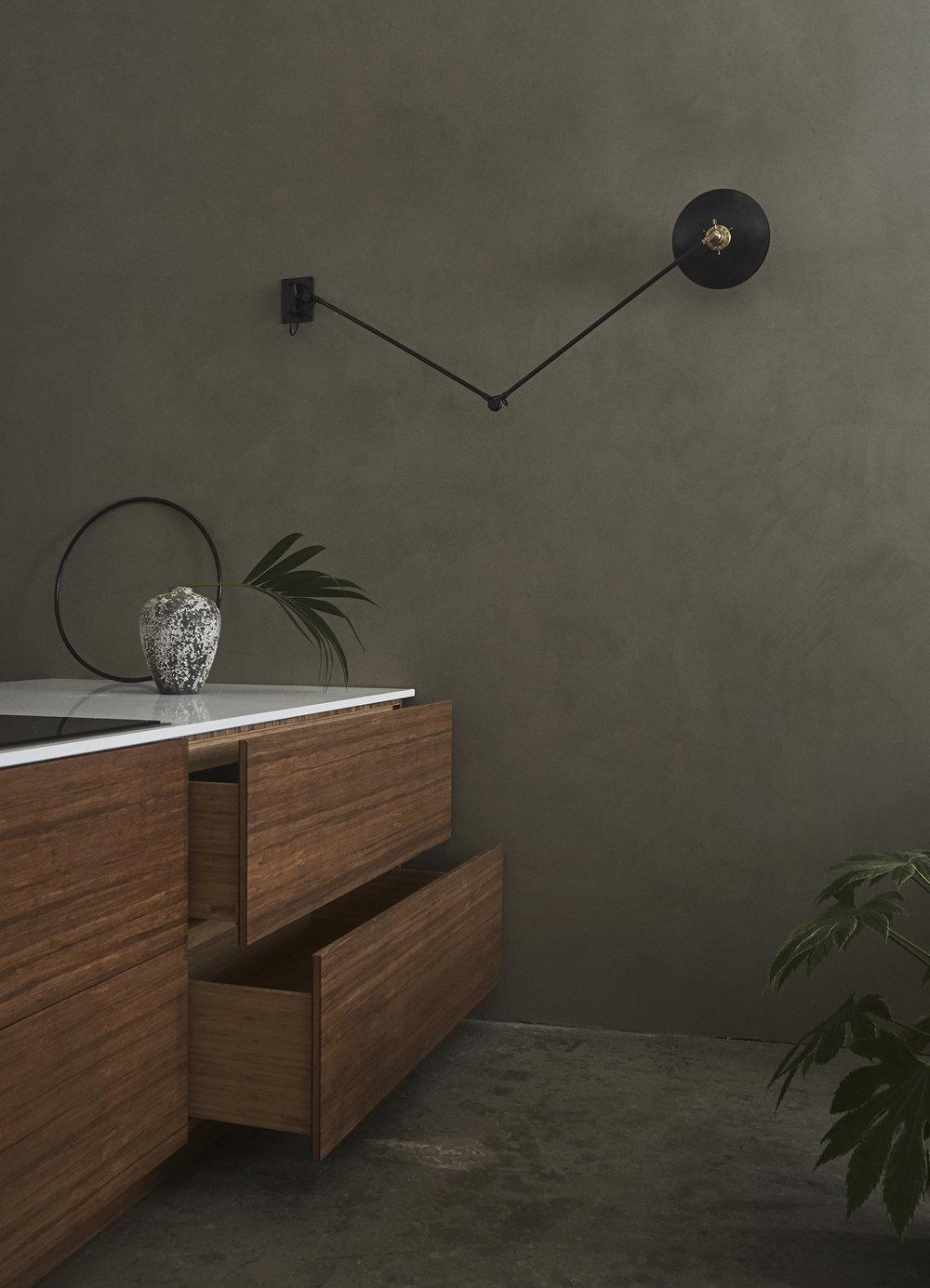 Bamboo kitchen - ask og eng