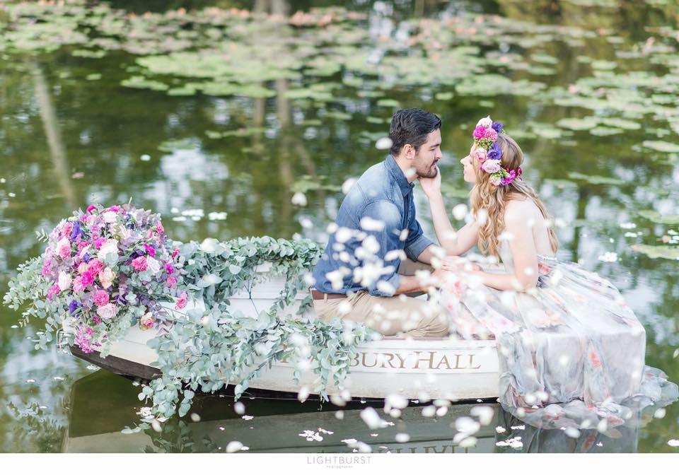 floral engagement